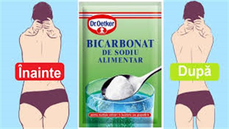 Cum să scapi cu ajutorul bicarbonatului de sodiu de depunerile de grăsime, în doar 48 de ore…