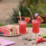 Sucul de pepene roșu combate retenția de lichide