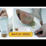 Faceți propriii plasturi detoxifianți pentru tălpi